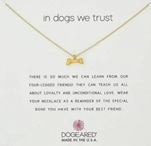 Dogeared Necklace- Best Gifts for Dogs for the Holidays - Seattle Dog Zone