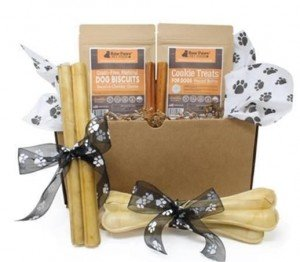 Raw Paws Pet Dog Holiday Gift Pack- Best Gifts for Dogs for the Holidays - Seattle Dog Zone